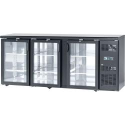 Presklený barový chladiaci pult 540 l