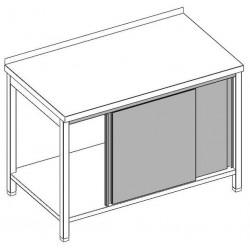 Posuvné dvierka na stoloch-140
