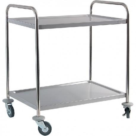 Dvojpolicový transportný vozík EKO