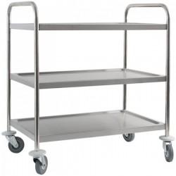 Trojpolicový transportný vozík EKO
