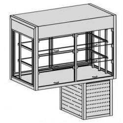 Chladiaca vitrína samoobslužná
