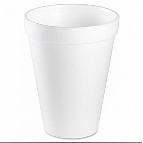 Termo EPS pohár 200 ml biely