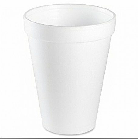 Termo EPS pohár 250 ml biely