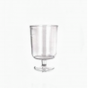 Pohár na víno 200 ml krištáľ -plast
