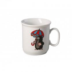 Krtko hrnček - dáždnik (Gaston)