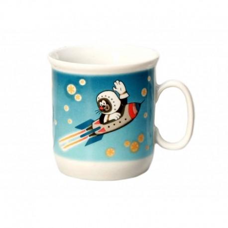 Krtko hrnček - raketa (Gaston)
