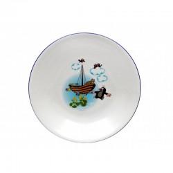 Krtko hlboký tanier loď (coup)