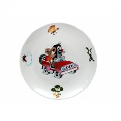 Krtko plytký tanier autíčko (coup)