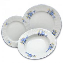 Nezábudky tanierová súprava 18 D