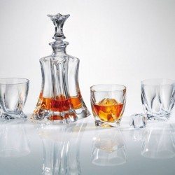 FLORALE Whisky set 6 + 1