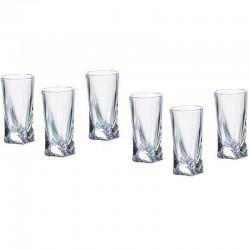 QUADRO pohár 50 ml 6 ks - sada
