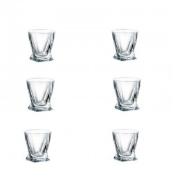 QUADRO pohár 55 ml 6 ks - sada