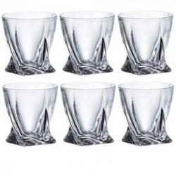 QUADRO pohár 340 ml 6 ks sada