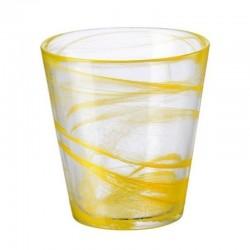 CAPRI pohár 370 ml 6 ks žltý