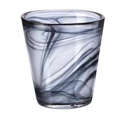 CAPRI pohár 370 ml 6 ks čierny