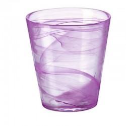 CAPRI pohár 370 ml 6 ks fialový