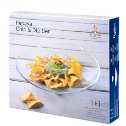 Papaya SET 2D chip&dip