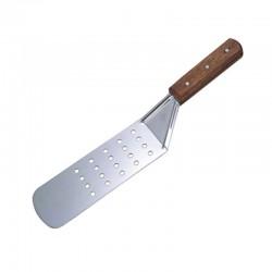 Lopatka s drevenou rúčkou perforovaná 36,5