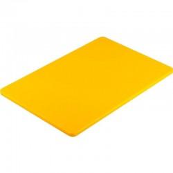 Doska na krájanie tenká - žltá
