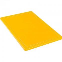 Doska na krájanie hrubá žltá