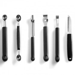 Set dekoračných nožov - 6 dielny