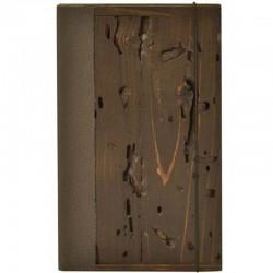 Drevená krabička na účtenky, masív, svetlý dub