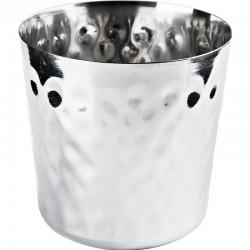 Miska na hranolčeky, tyčinky a pod. s tepaným kladivovým efektom