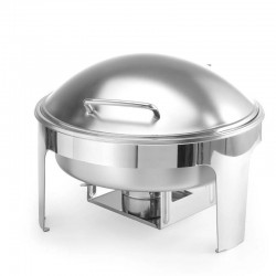 Chafing Dish PROFI matný - guľatý
