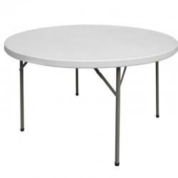 Cateringový stôl okrúhly - malý
