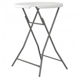 Cateringový stôl okrúhly - vysoký