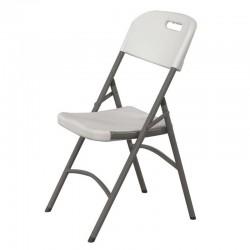 Cateringová stolička biela