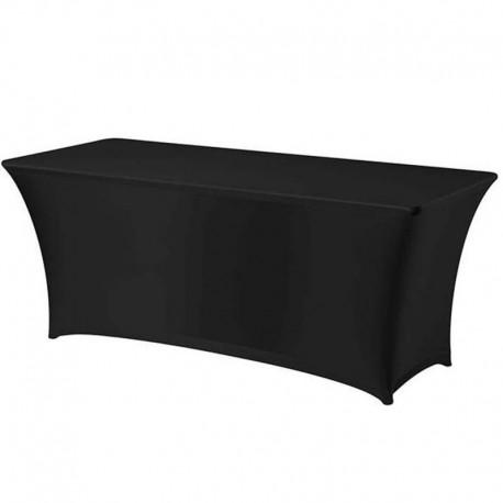 Cateringový poťah na hranatý stôl - čierny
