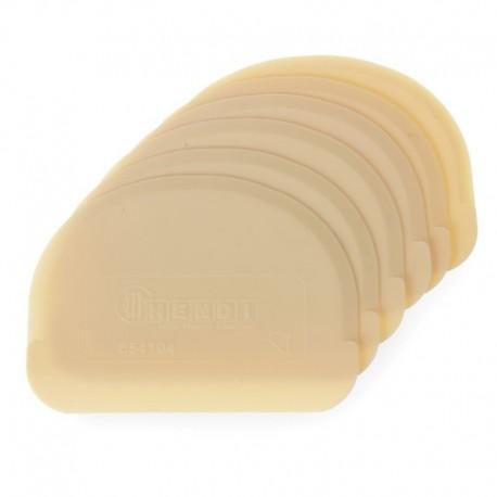 Plastové stierky poloblúk balenie 6 ks