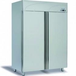 Dvojdverová nerezová chladnička 1400 l, LS-140