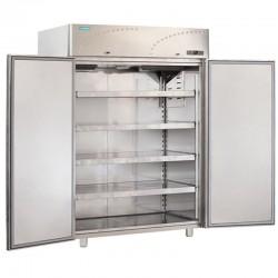 Dvojdverová nerezová chladnička 1500 l, LS-140X1