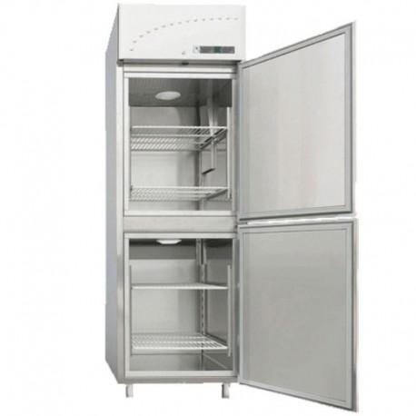 Chladnička a mraznička nerezová 560 l, LM-2350