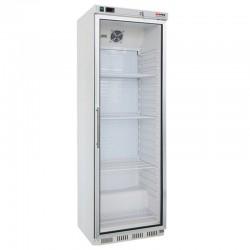 Chladnička biela, presklená 400 l, HR-400G