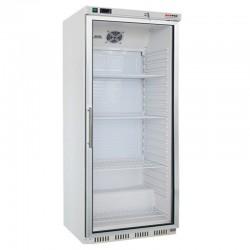 Chladnička biela, presklená 600 l, HR-600G