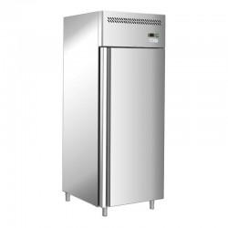 Jednodverová nerezová chladnička 650 l