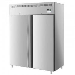 Dvojdverová nerezová chladnička 1300 l