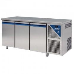 Trojdverový chladiaci stôl 460 l PROFI