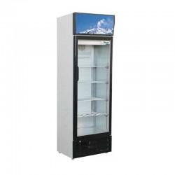 Presklená chladnička 290 l