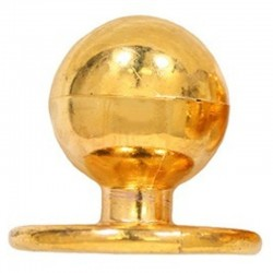Gombíky k rondónu, strieborné a zlaté