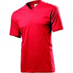 Pánske tričko s V-výstrihom