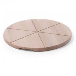 Pizza podnos - drevený 50 cm