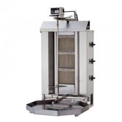 Plynový stroj na kebab 3 horáky