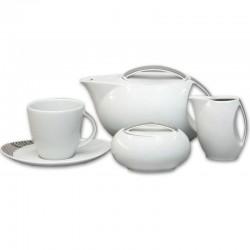 Loos platinový dekor čajová súprava 17 D