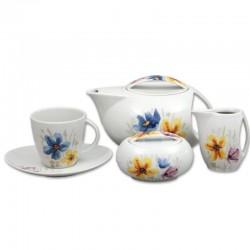 Loos lúčné kvety čajová súprava 17 D