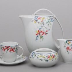 Loos čajová súprava 17 D - drobné kvety