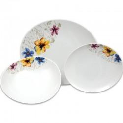 Loos lúčné kvety tanierová súprava 18 D